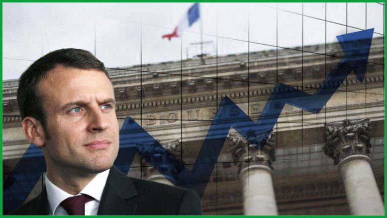 Macron CAC 40